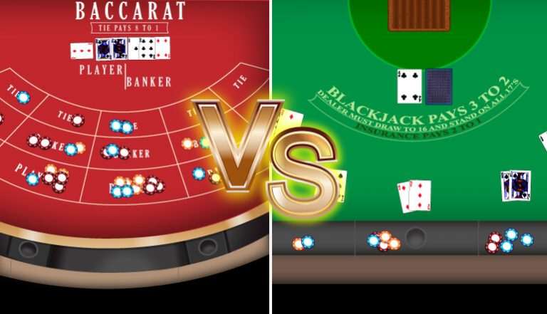 Baccarat and BlackJack
